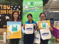 Thaksin University collect plastic waste